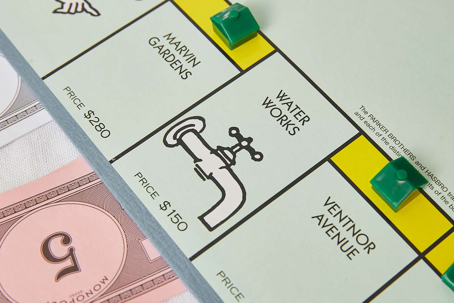 Monopoly Water Works