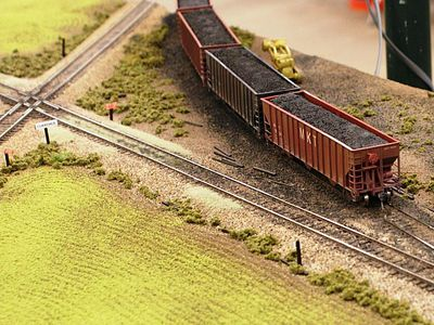compact railroad junctions for model train layouts