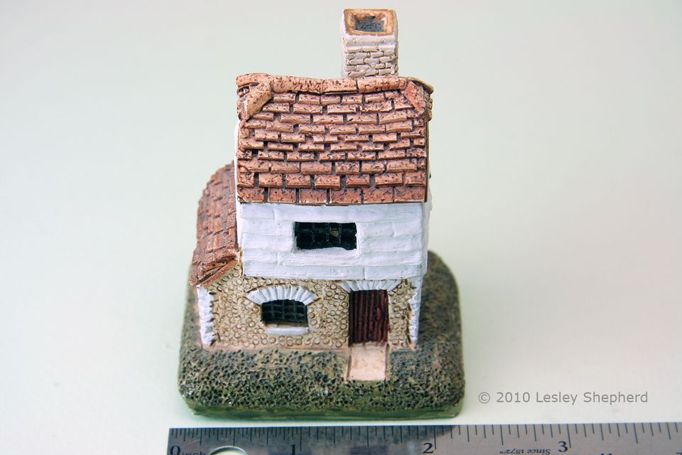 "Front view of the Lilliput Lane collectible cottage ""Millers""."