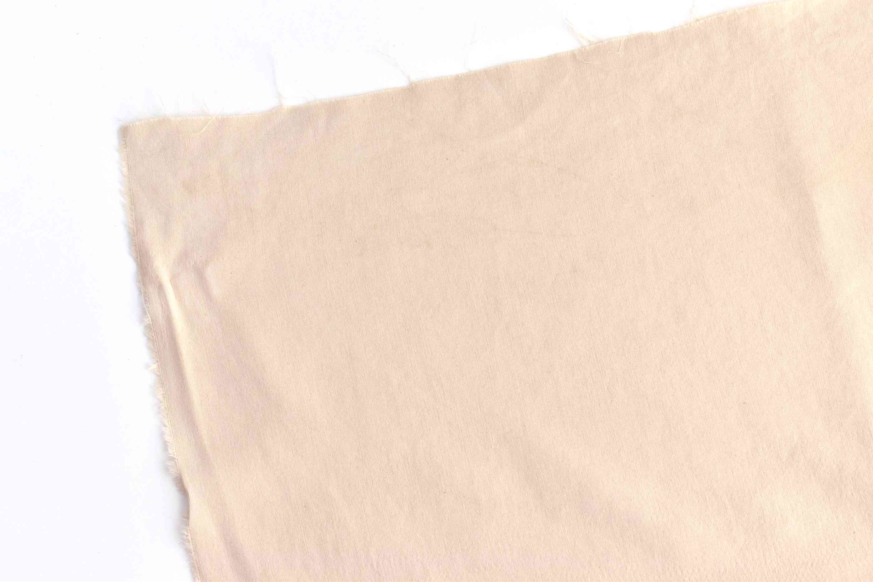 Fabric Dyed With Coffee