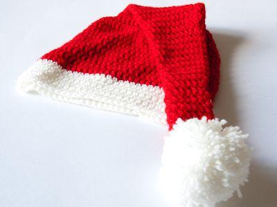Basic Knit Hat in Stockinette Stitch