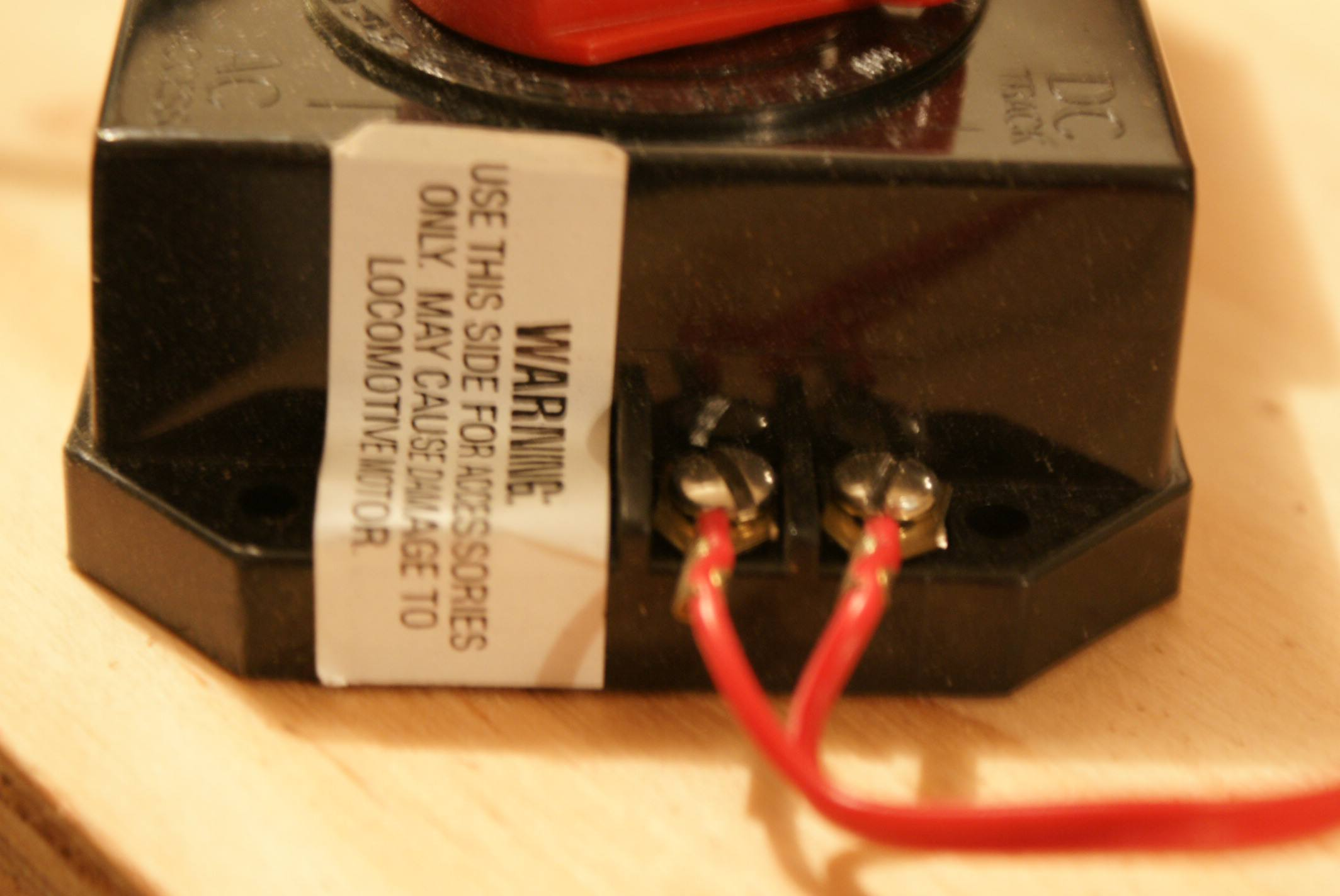 Check the output of your power supply. Make sure you used the correct  outputs