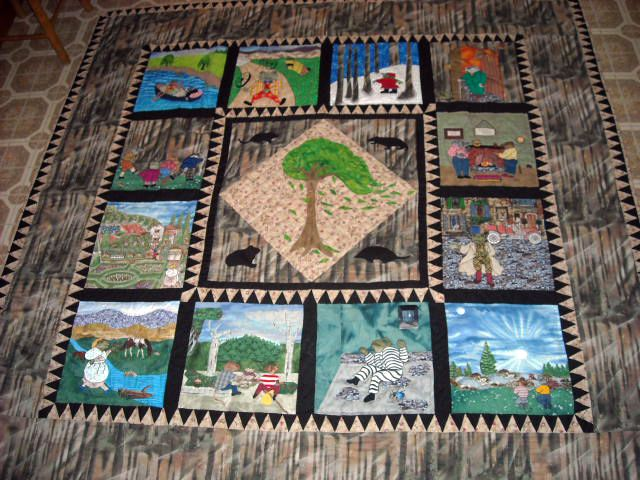 Wind in the Willows Quilt
