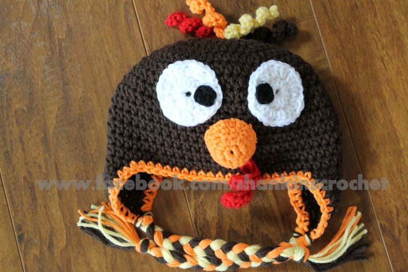 10 FREE Crochet Turkey Hat Patterns