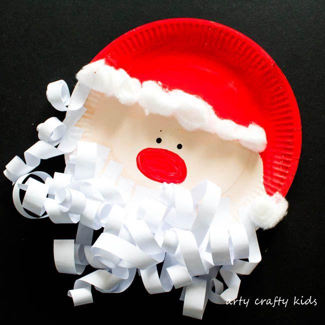 Paper Beard Santa