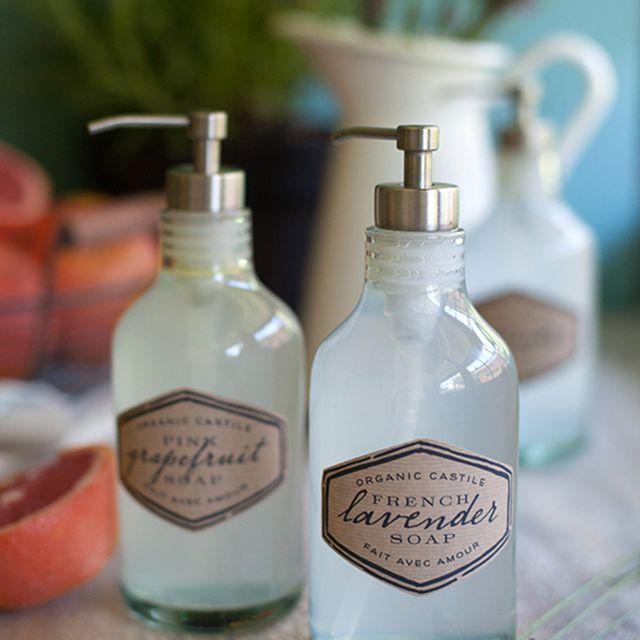DIY organic hand soap