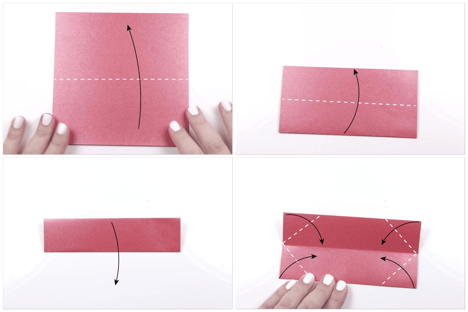 modular origami lotus 1
