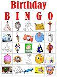 Birthday Printable Bingo Cards