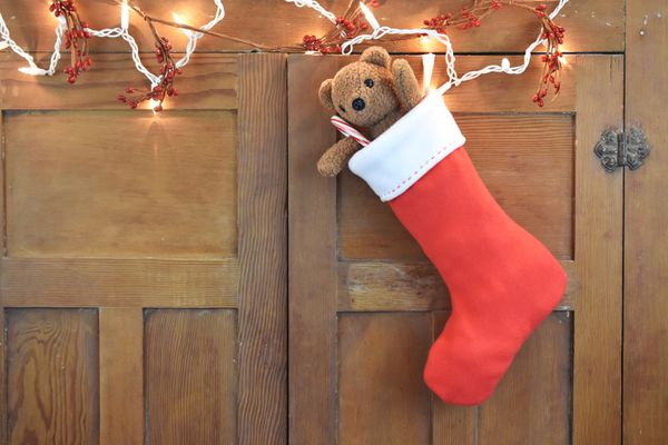 Sew an Easy Fleece Christmas Stocking
