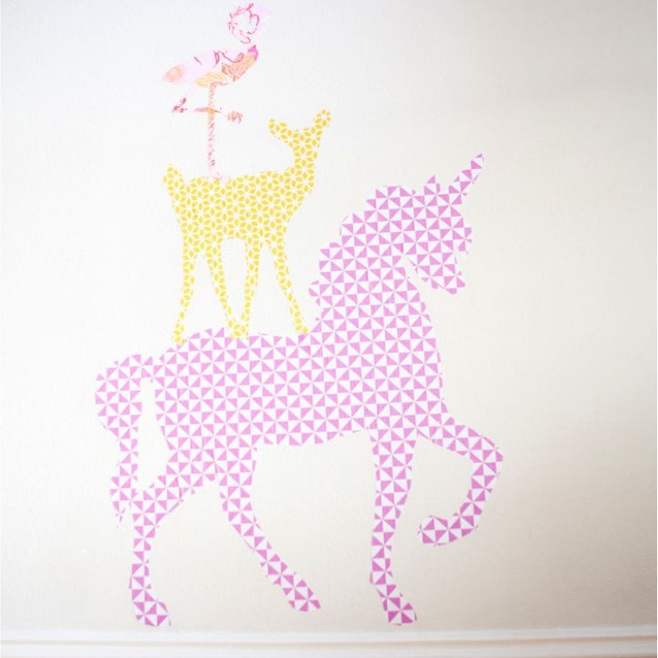 DIY Giant Wall Stickers