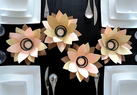 28 fun and easy to make paper flower projects you can make diy votive paper flowers mightylinksfo