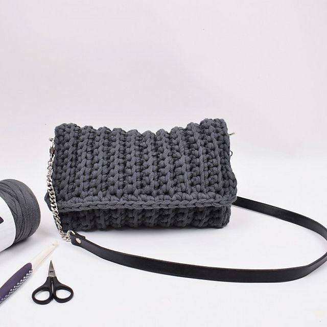 Easy Crochet Purse Free Pattern