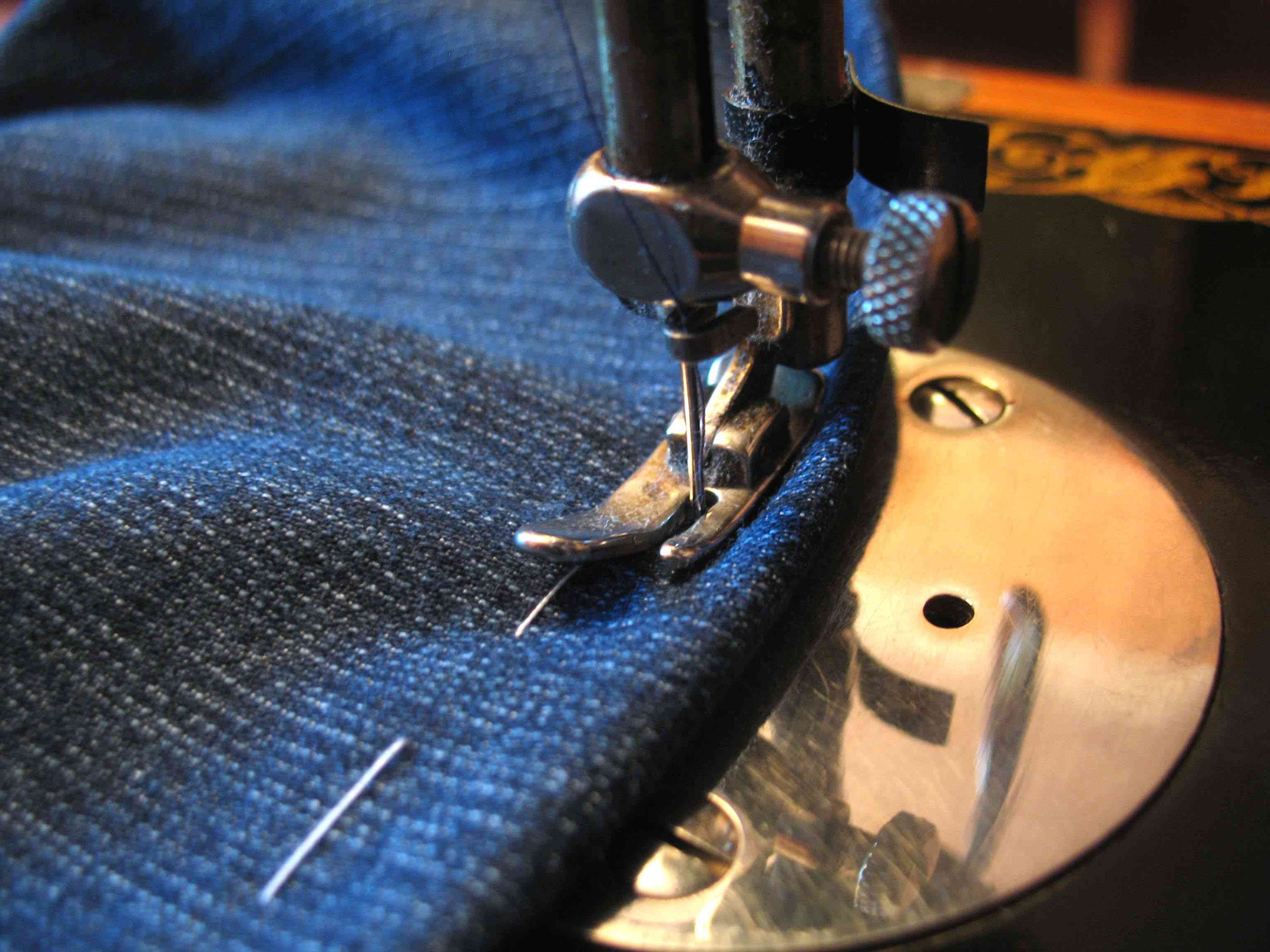 sewing machine stitches