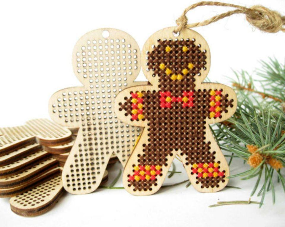 Gingerbread man ornament