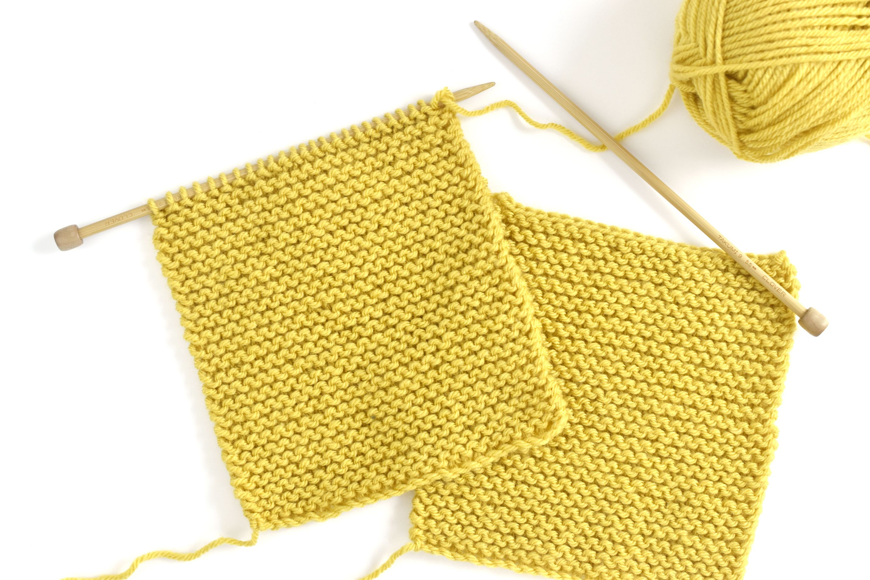 How to Knit a Toggle Button Baby Sweater
