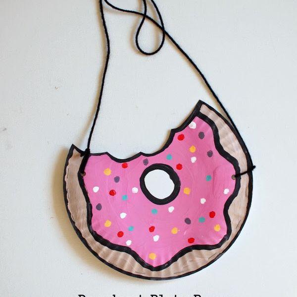 Donut Plate Purse
