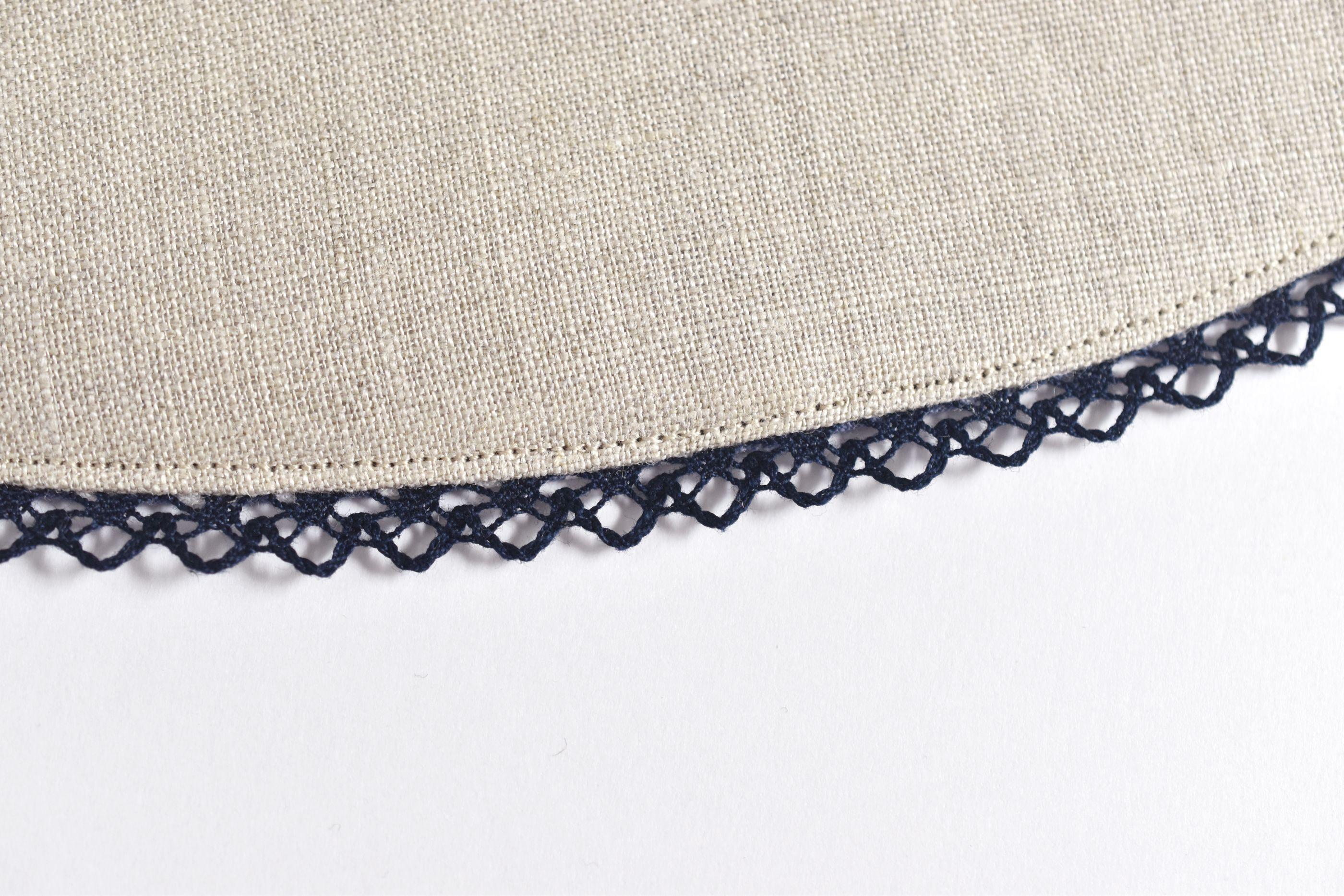Closeup of hat brim showing top-stitching