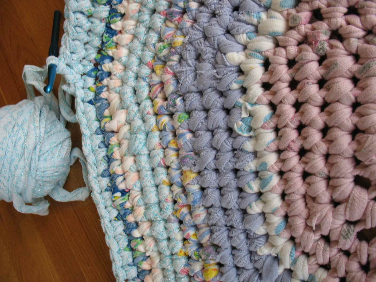 Crochet Rag Rug Pattern And Tutorial