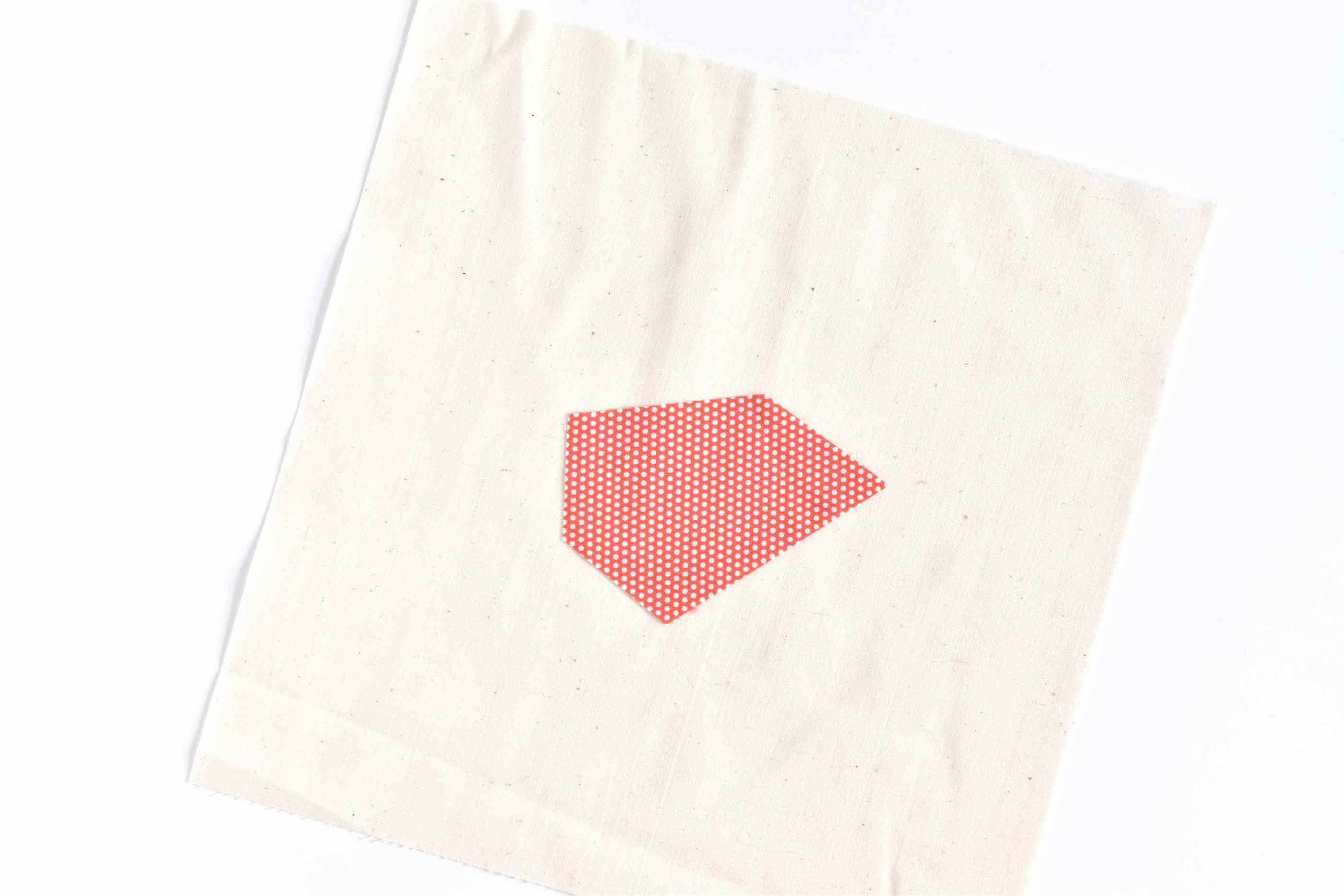two small pieces of fabric
