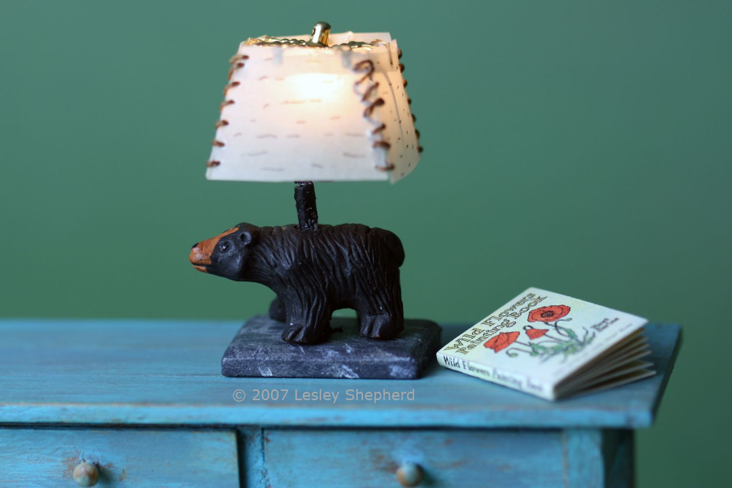 How to Make Working Dollhouse Lamps and Model Fires