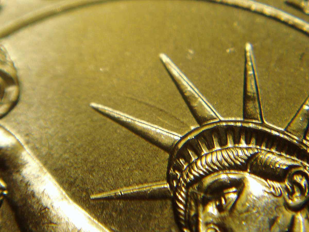 Die Clash Error on Washington Dollar