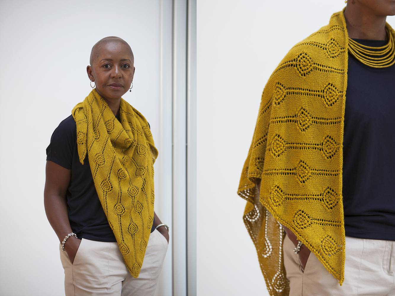 Dionne Shawl Lace Knitting Pattern
