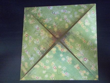 An Origami Gift Box