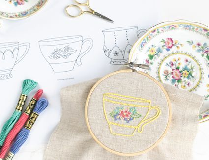 12 Fun And Cute Miniature Embroidery Patterns