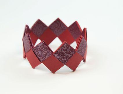 origami bracelet tutorial 00