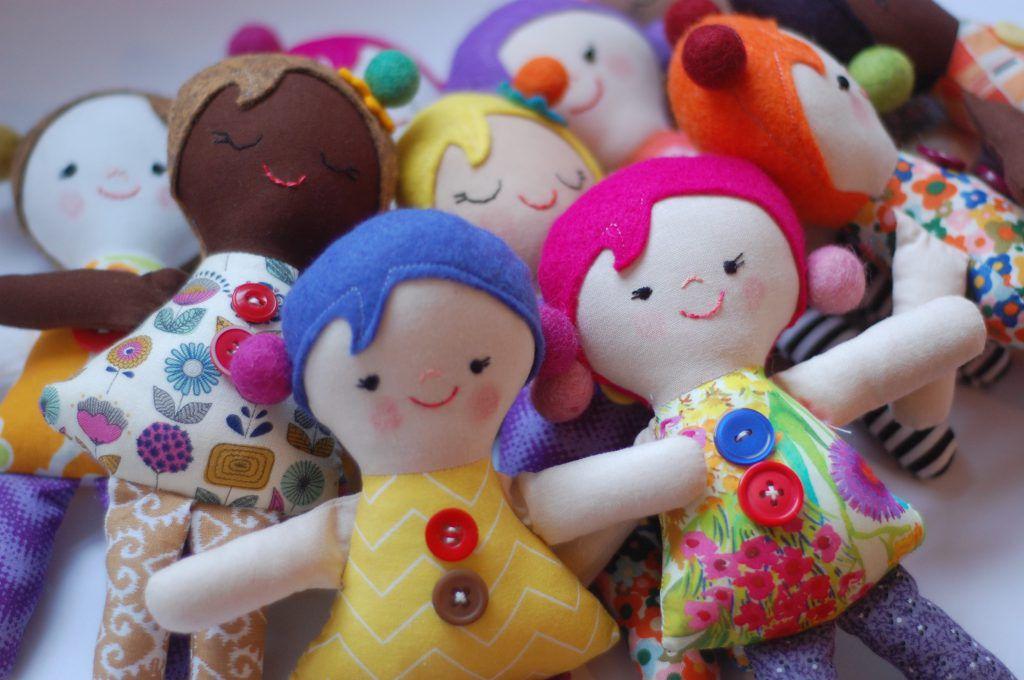 Josephine Easy Doll Pattern