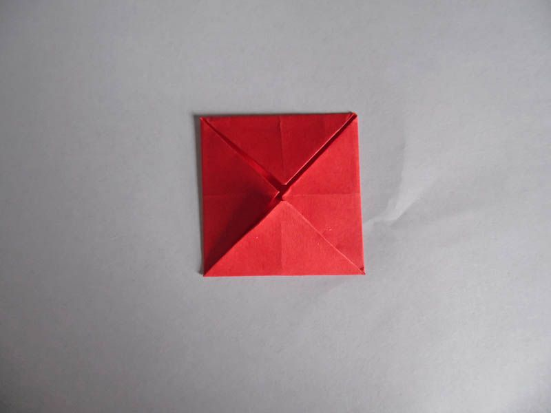 How to make an easy origami rose folded double blintz mightylinksfo