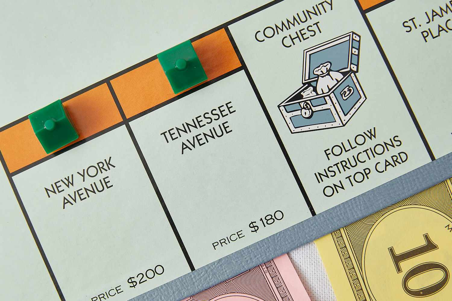 Monopoly Tennessee Avenue