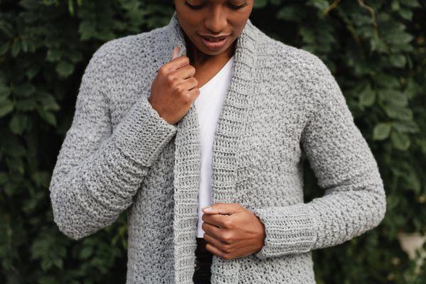 Sweater Weather Cardi Crochet Pattern