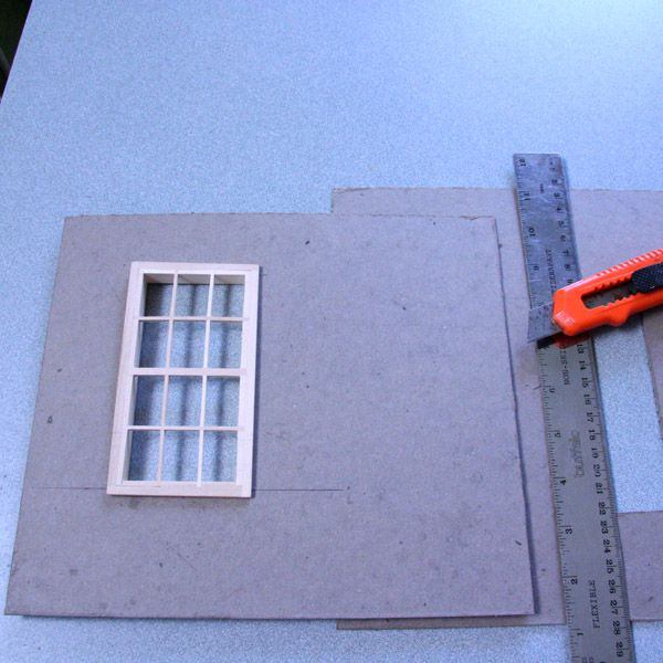 Materials To Build Dollhouses Or Scale Model Buildings