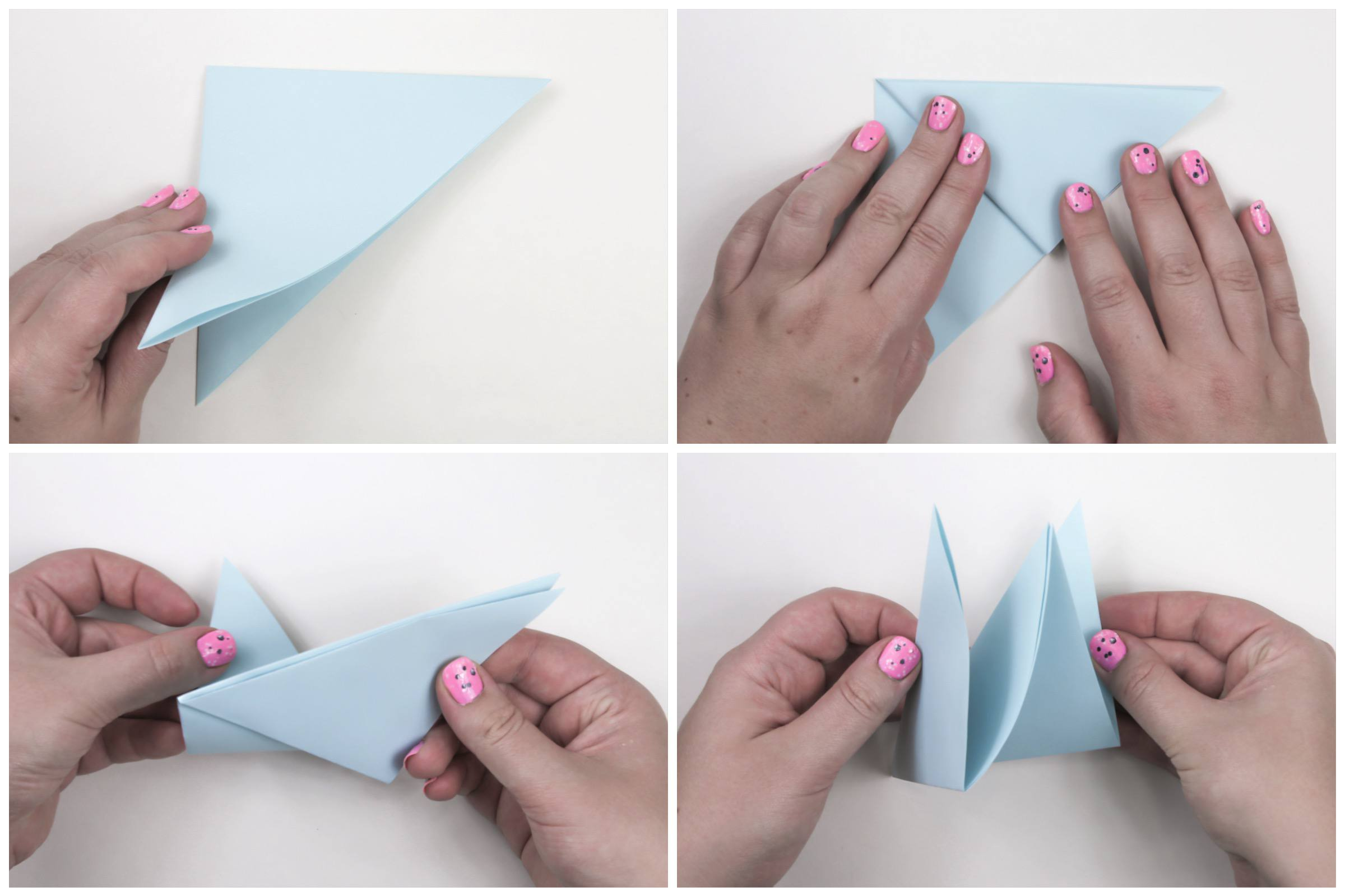 Origami Peace Dove Step By Step Instructions