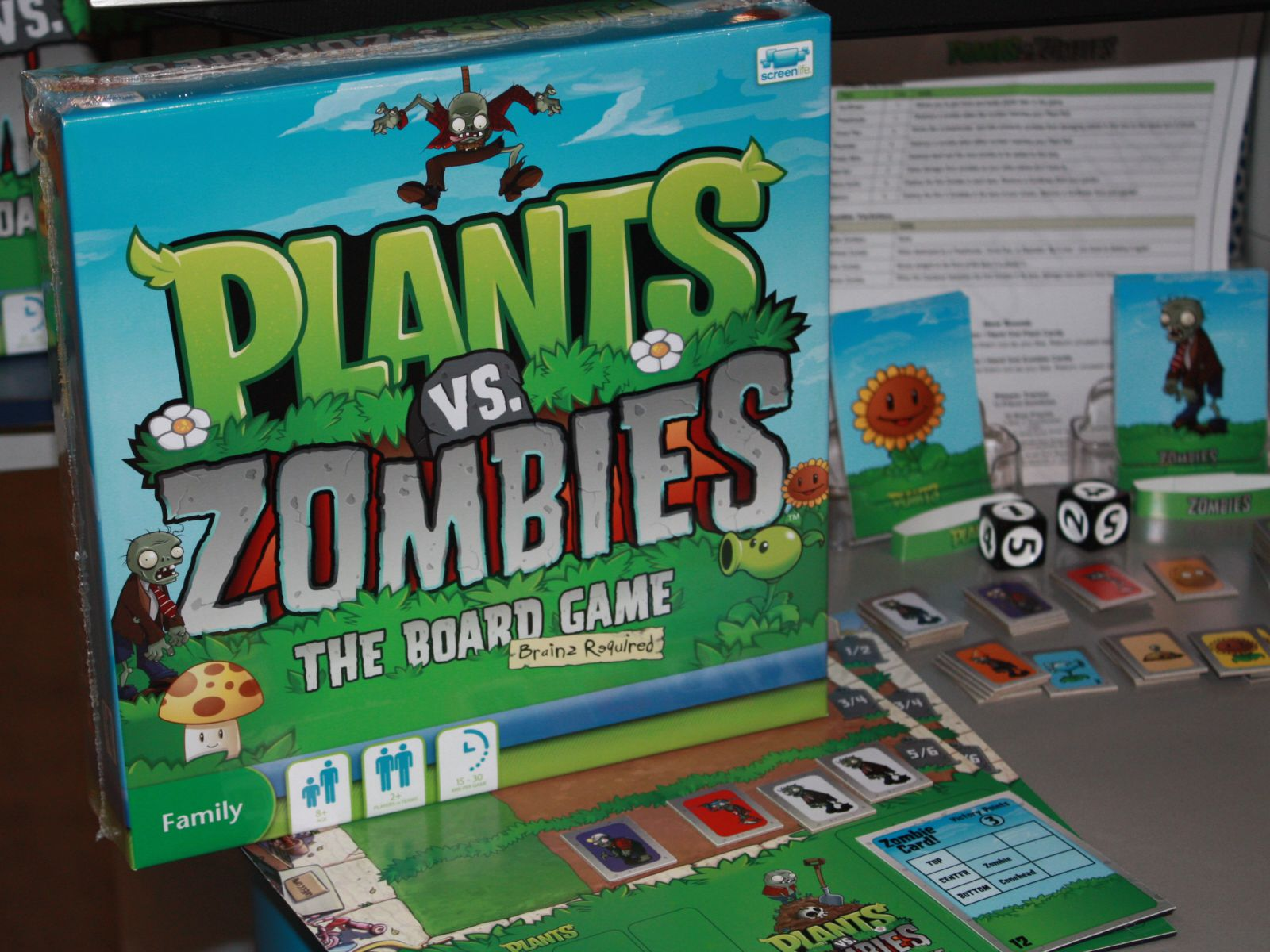 Is There A Board Game Of Plants Vs Zombies