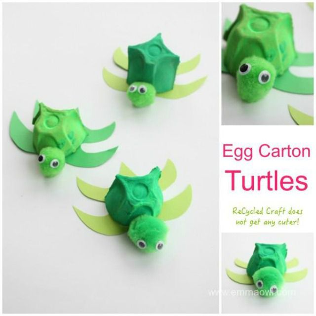 26 Recycled Egg Carton Crafts For Kids
