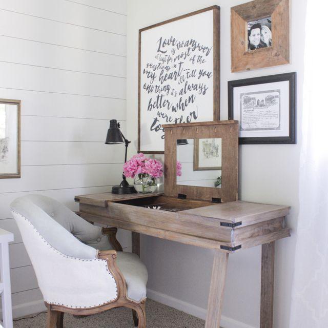 48 Free DIY Desk Plans You Can Build Today Mesmerizing Bedroom Desk Furniture Model Plans