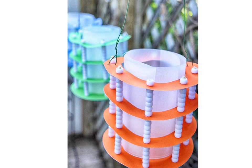 DIY Paper Lantern Party Decor Tutorial