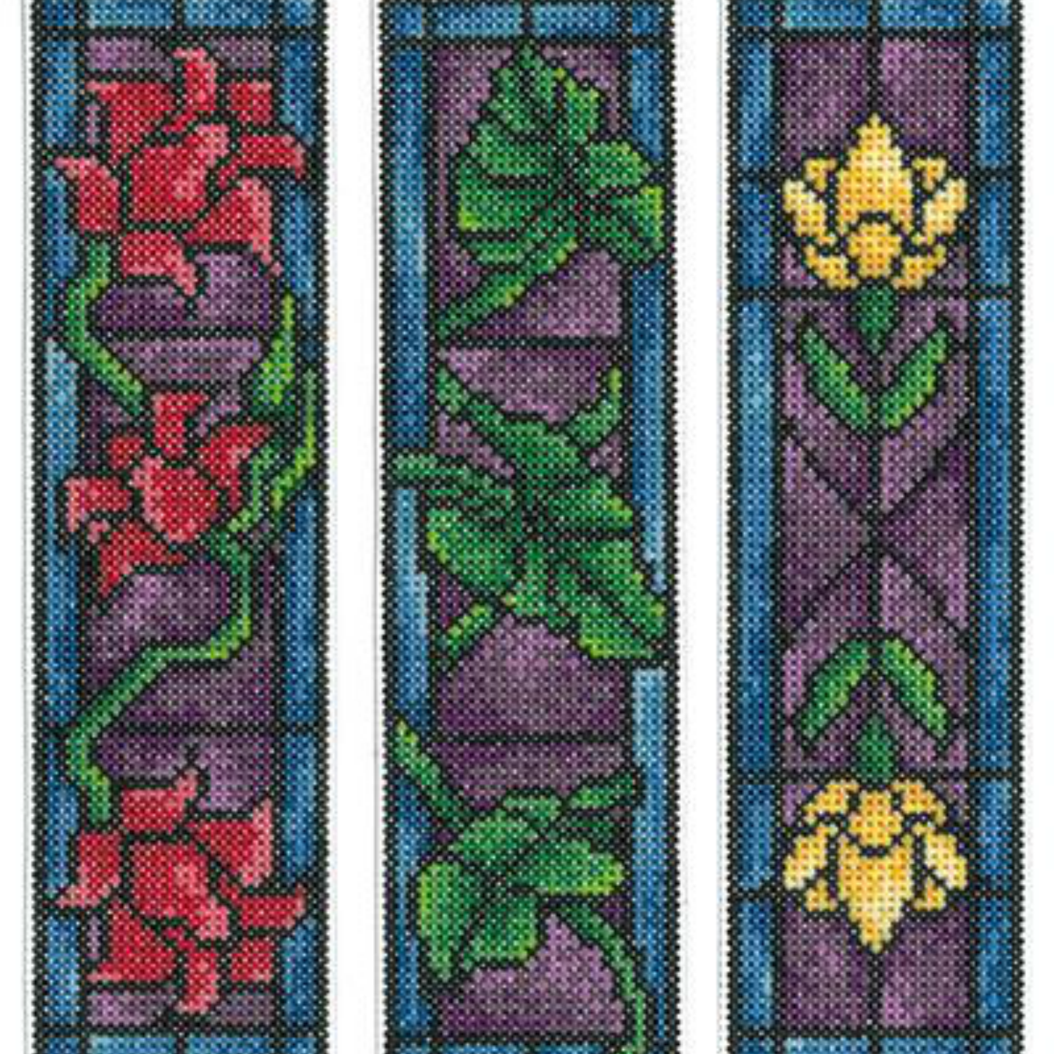 Stained glass bookmark
