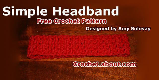 Crochet Hair Accessories Free Patterns