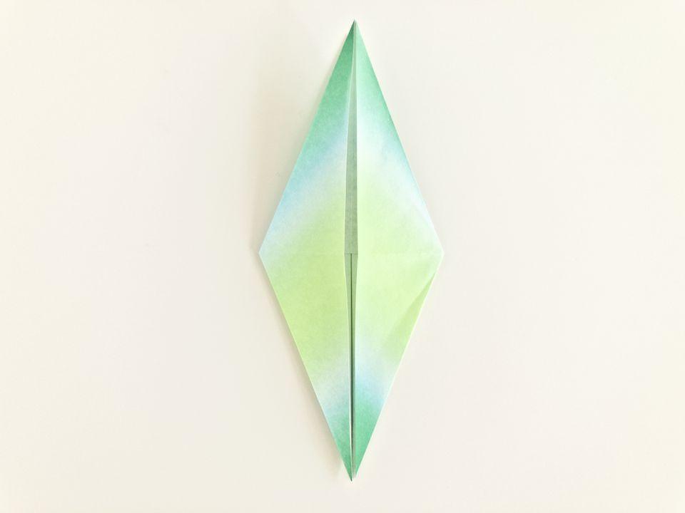 Easy Origami Crane Instructions on