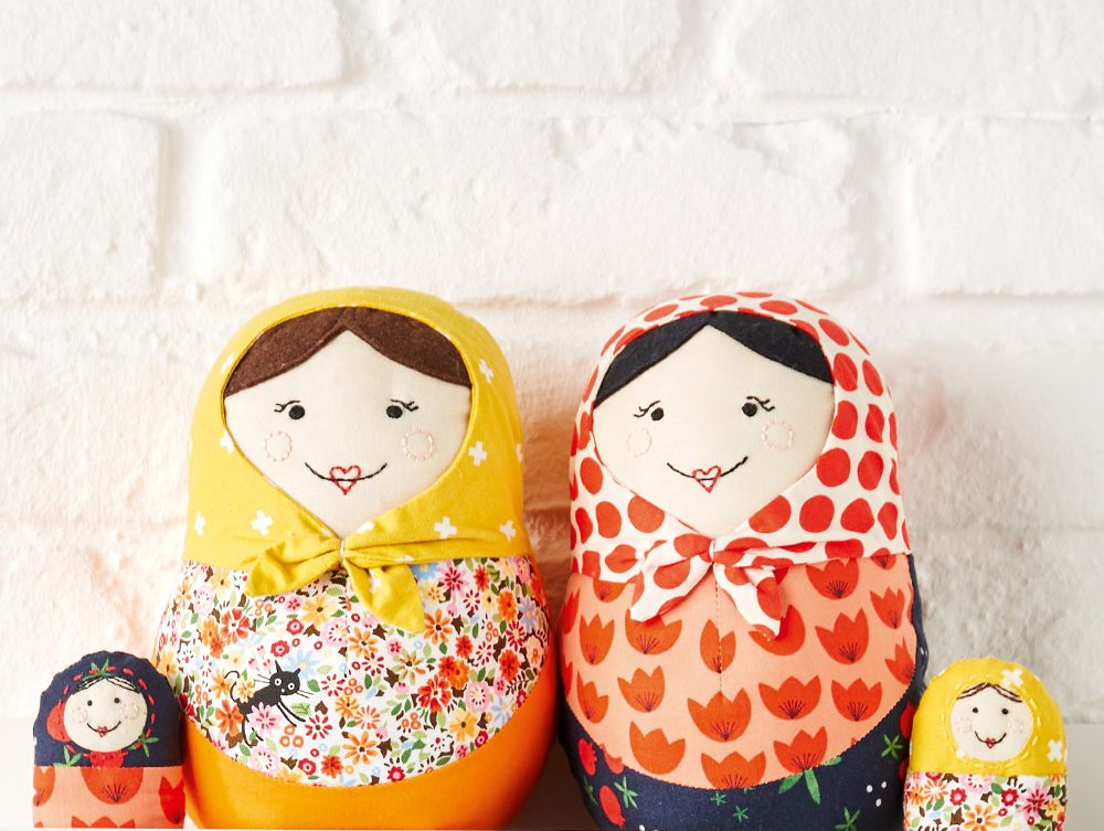 Hello Dolly Russian Nesting Doll Pattern