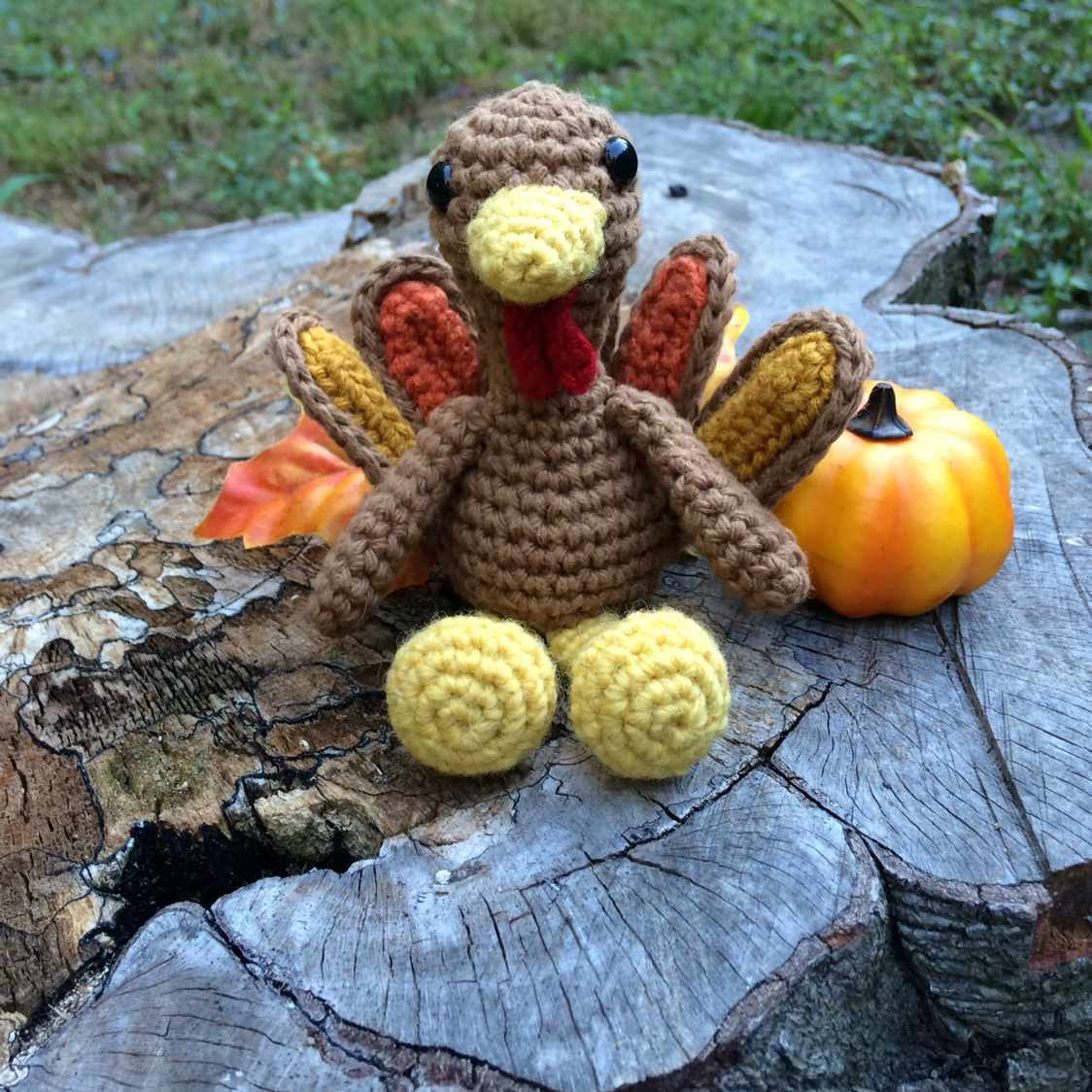 Crochet Thanksgiving Turkey Free Pattern
