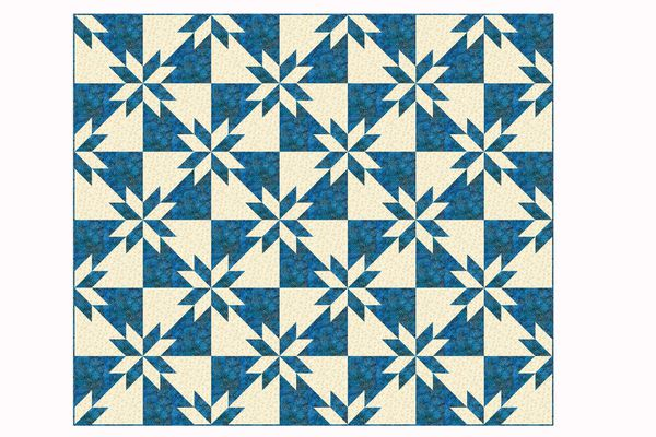 Hunter's Star Quilt Pattern
