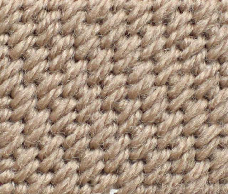 Basic Cashmere Stitch Sample