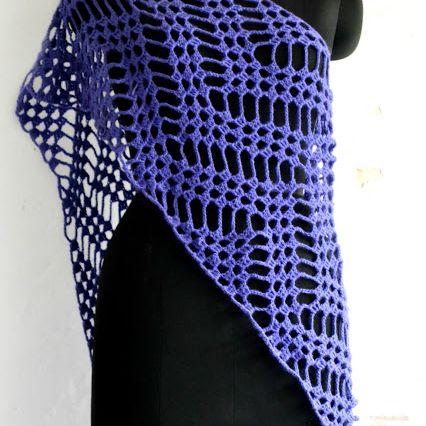 Filet Crochet Wrap Free Pattern