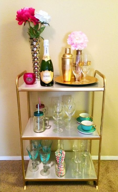 Diy Chic Bar Cart