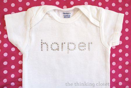 9ae1730f2 20 Adorable DIY Baby Clothes