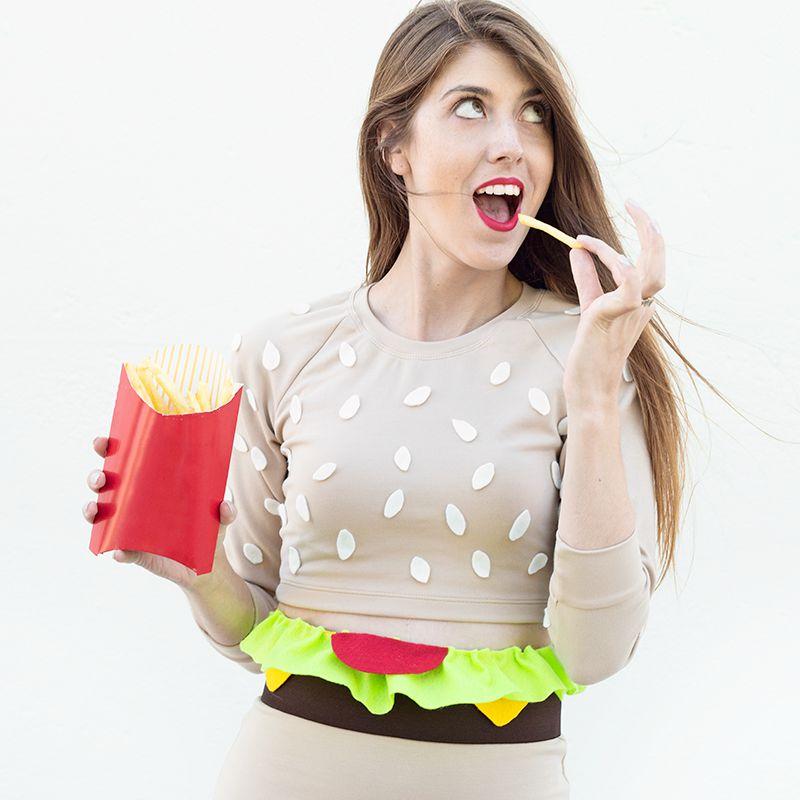 DIY Burger Costume